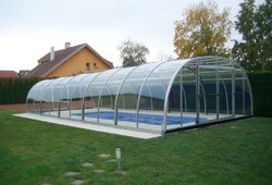 Swimming Pool Covering Polycarbonate Sheet