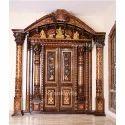 Rosewood Pooja Room Door