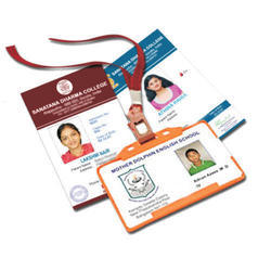 Plastic ID Cards, 2 g, Shape: Rectangular