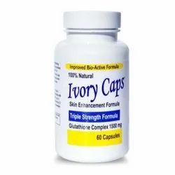 Skin Enhancement Ivory Capsules, Packaging Type: Bottle