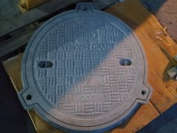 Perforated Chamber Covers