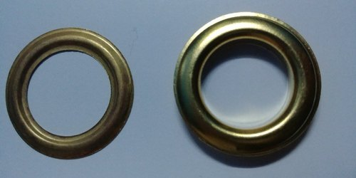100 pcs Size 3 Nickel Eyelets. Outer dim : 10 mm. Inner dim: 5.5mm