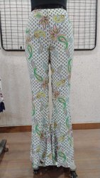 Ladies Flower Printed Trouser