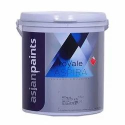 Asian Paints Water Based Paint Royale Aspira Luxury Emulsion Paint, for Interior, Packaging Type: Bucket