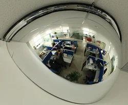Poly carbonate Half Dome Mirror 18