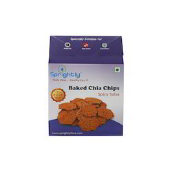 Baked Chia Chips