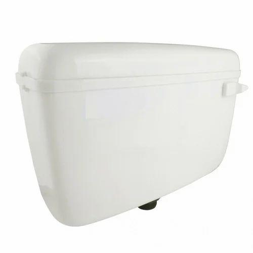 White Plastic Flushing Cistern Rs 320 Piece Laxmi