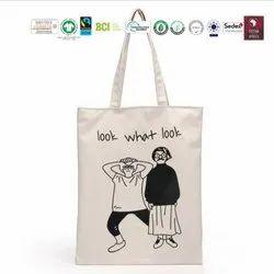 Gots Organic Cotton Shopping Bag