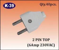K-39 2 Pin Top Plug