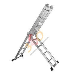 Mobile Statue Broad Step Aluminium Ladder