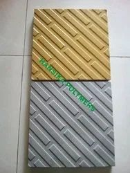 Cross Stripe Tile Moulds