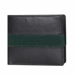 Brune Leather Black Designer Wallet