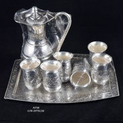 Ats-4 Silver Tea Set