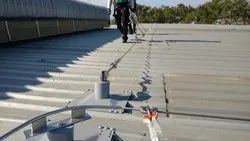 Stainless Steel Roof Top Fixed Lifeline System