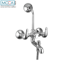 Bathroom Wall Mixer - L Bend Three In One