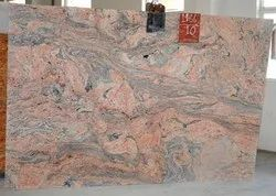 Red Polished INDIAN JUPARANA, For Flooring, Thickness: 20-25 mm