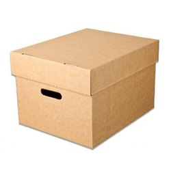 Brown Plain 5 Ply Corrugated Box, Capacity: 6-10 kg