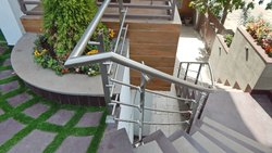 Standard Stainless Steel Staircase Handrail and Balustrade system