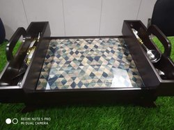 Folding Bed Snacks Table