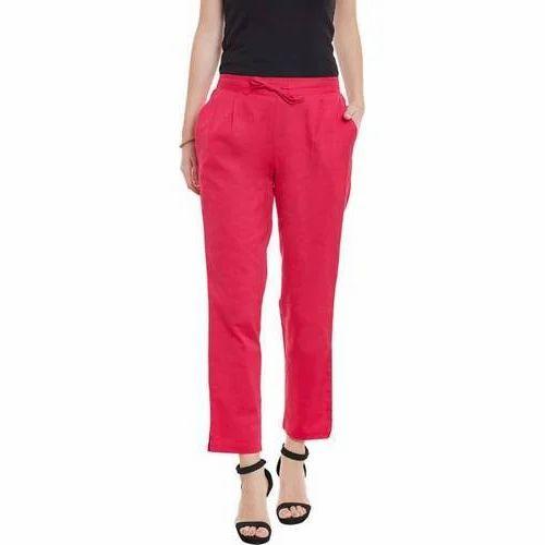 74125c942349 Plain Casual Wear Ladies Trousers, Rs 350 /piece, Sanil Creations ...