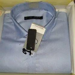 Cotton Plain Men's Formal Shirt, Size: M