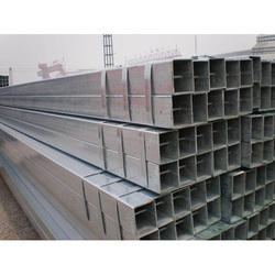 Jindal Steel Square Pipes, Size: 4 Inch
