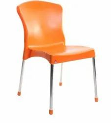 Cello Milano Chair Or Cafeteria Chair or Steel legs Chair
