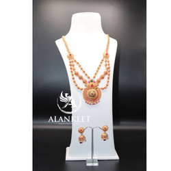 Indian Designer Long Rani Necklace Set