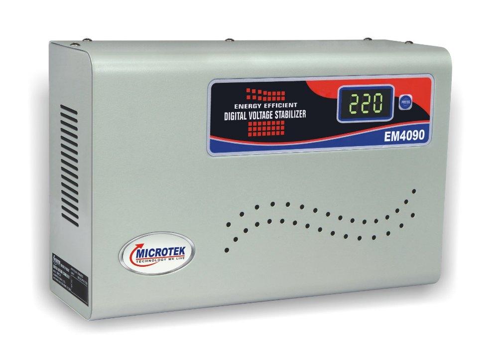 Microtek EM4090 Air Conditioner Voltage Stabilizer