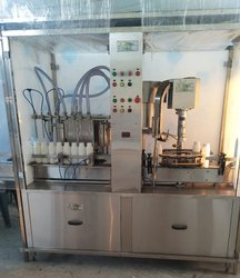 Mustard Oil Filling Machine ( 500 Ml.  To  15 Litr. )