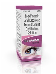 Moxifloxacin Ketorolac Eye Drops