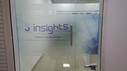 Office Transparent Toughened Glass