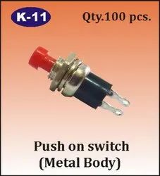 K-11 Push On Switch