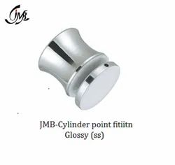 Stainless Steel Cylinder Point Fitting Glossy Finish