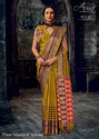 Pure Cotton Silk Saree For Party Wear