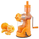 Orange Plastic Vegetable Juicer