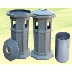 Cemented Garden Dustbin