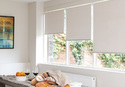 White Pvc Designer Blinds