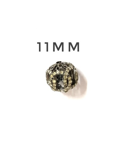 The Mask Jewellery Diamond Finding, Size: 11 Mm