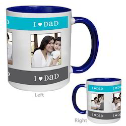 Color Inside Blue Mug