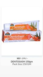 Biosash Natural Dentosash toothpaste, Packaging Size: 150 Gm