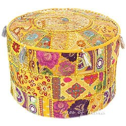 Embroidery Pouf