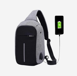 Scorpion Sling Bag with USB Point