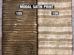Modal Satin Printed Fabrics