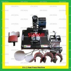 8 in 1 Printing Machine