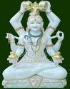 Marble Mahamrityunjaya Statue
