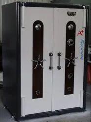 Manual Mild Steel Double Door Safe