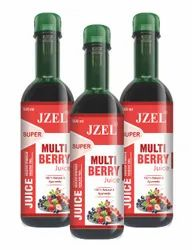 Jzel Multi Berry Juice, Packaging Size: 500 ml