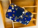 Zardosi Handwork Box Clutch Bag