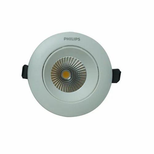 Philips Commercial Led Lights: Aluminum Philips 12w Astra Spot COB Spotlight LED, For